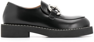 Marni buckle embellished mocassins