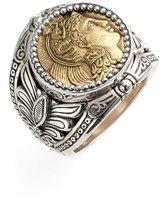 Konstantino 'Athena' Coin Ring