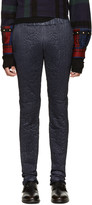 Sacai Navy Quilted Lounge Pants