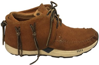Visvim Brown Suede Trainers