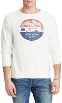 Denim & Supply Ralph Lauren Cotton Graphic Sweatshirt, Antique White