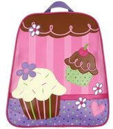 I Play Stephen Joseph Go Go Backpack WITH Lunchbox (Cupcake)