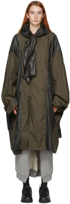 Ambush Khaki Oversized Poncho Coat
