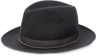 Fabiana Filippi Classic Fedora Hat