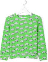 Au Jour Le Jour Kids Rhinoceros sweatshirt