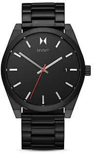 MVMT Element Ash Black Dial Watch, 43mm