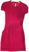 Prada Red Viscose Dress