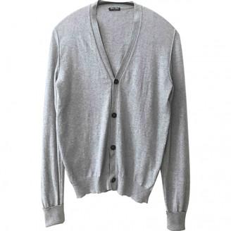 Miu Miu Grey Cotton Knitwear & Sweatshirts