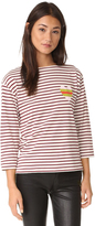 Chinti and Parker Stripe Heart Sailor Tee