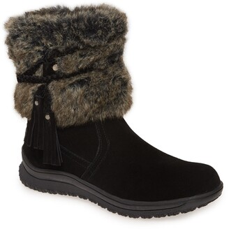 Minnetonka Everett Water Resistant Faux Fur Boot