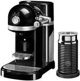 KitchenAid Nespresso & Aeroccino Machine, Onyx Black