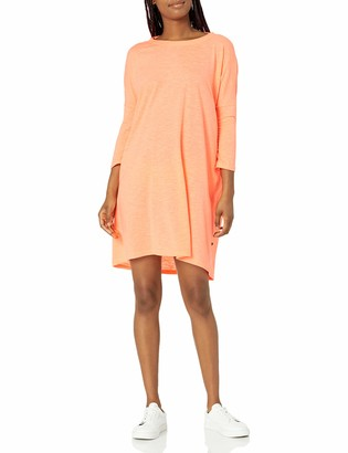 Noisy May Women's Abia 3/4 Sleeve Mini Dress with Cut Out Back
