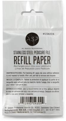 ASP Stainless Steel Foot File Replacement Papers