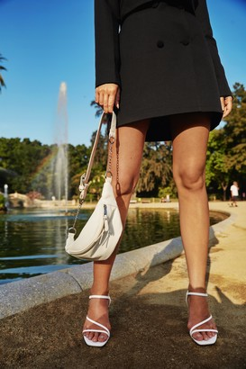Nasty Gal Womens Tailor Isn't an Option Button Mini Skirt - Black - 12