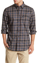 Gant Fitted Rockaway Twill Check Long Sleeve Shirt
