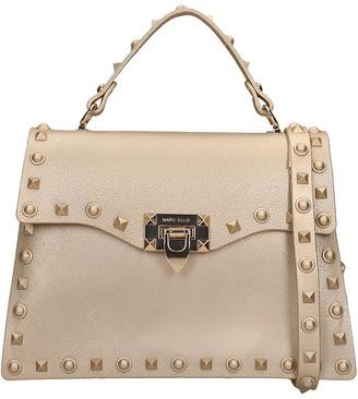 Marc Ellis Flat M Rock Hand Bag In Gold Rubber/plasic