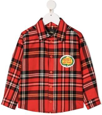 Mini Rodini Check Flannel Shirt