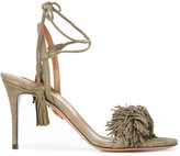 Aquazzura 'Wild Thing' sandals - women - Leather/Calf Suede - 37.5