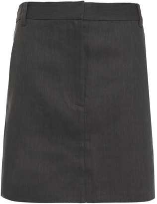 Tibi Twill Mini Skirt