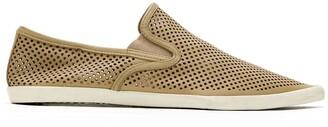 OSKLEN Perforated Slip-On Sneakers