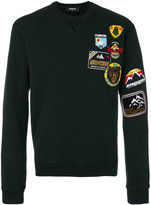 DSQUARED2 embroidered patch sweatshirt