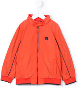 Armani Junior zipped windbreaker jacket