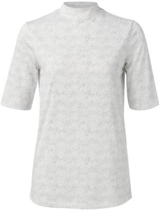 Ya-Ya High Neck T-Shirt with Spots 1919119 - XS . | Modal / Polyester