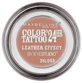 Maybelline Color Tattoo 24Hr Eyeshadow Leather Effect 98 (Pack of 2)