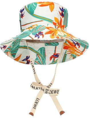 Loewe Paula's Ibiza printed cotton bucket hat