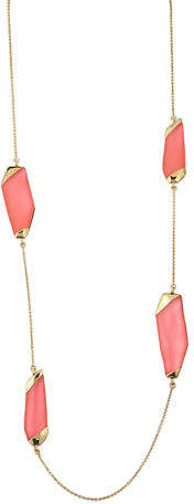 """Alexis Bittar Large Lucite® Station Necklace, 36"""""""