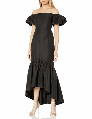 Jill Stuart Jill Women's Off Shoulder Hi Lo Dress