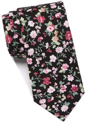 Original Penguin Harkins Floral Skinny Tie
