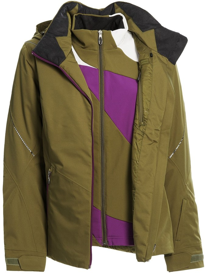Spyder Menage A Trois Jacket - 3-in-1, Waterproof, Insulated (For Women)