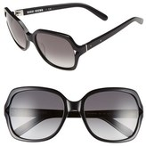 Bobbi Brown Women's 'The Harper' 55Mm Square Sunglasses - Black