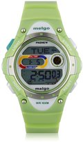 JSC Luck Pasnew LED 100M Waterproof Digital Sport Watch for 5-15 Years Old Boys Girls Kids Students (Green)