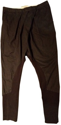 By Malene Birger Black Cloth Trousers for Women
