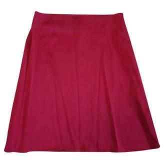 Jonathan Saunders Pink Synthetic Skirts