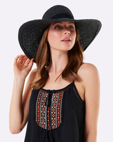 Forever New Summer Wide Brim Floppy Hat