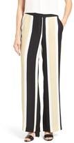 Vince Camuto Women's Stripe Wide Leg Pants