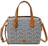 Fossil Emma Printed Satchel