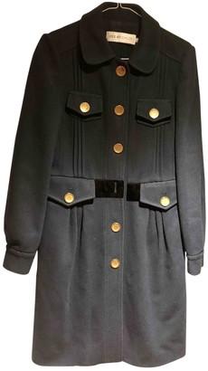 See by Chloe Navy Wool Coat for Women