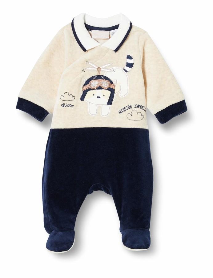 Chicco Baby Boys Tutina Con Apertura Entrogamba Toddler Sleepers