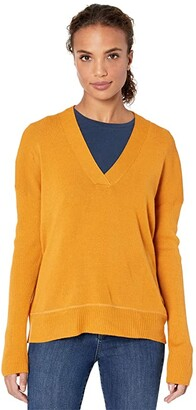 Carve Designs Aurora Sweater (Sunflower) Women's Sweater