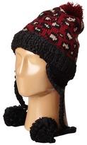 San Diego Hat Company KNH3372 Knit Beanie Trapper with Pom Poms