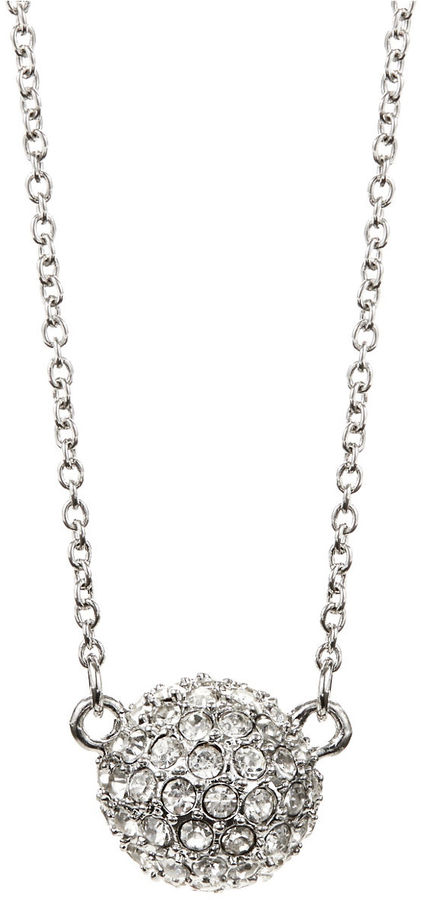 Lord & Taylor 424 FIFTH Disco Ball Necklace