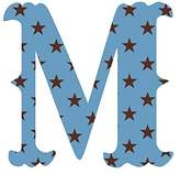 Wall Candy Arts WallCandy Arts Luv Letters Stars M, Pink/