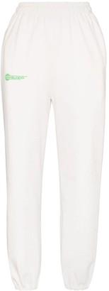 Danielle Guizio Logo-Print Track Pants