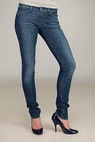 Zip Super Skinny Vintage Indigo Jeans