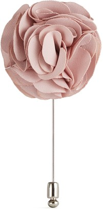 Reiss Piani - Flower Dress Pin in Pink