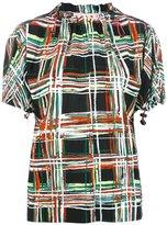 Marni Scribble print blouse - women - Viscose - 44